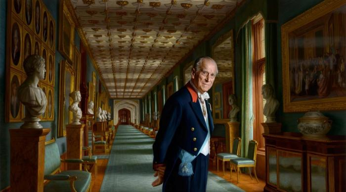New portrait of Britain's Prince Philip released