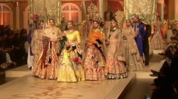 Three days Bridal fashion week concludes with glitz and glamour
