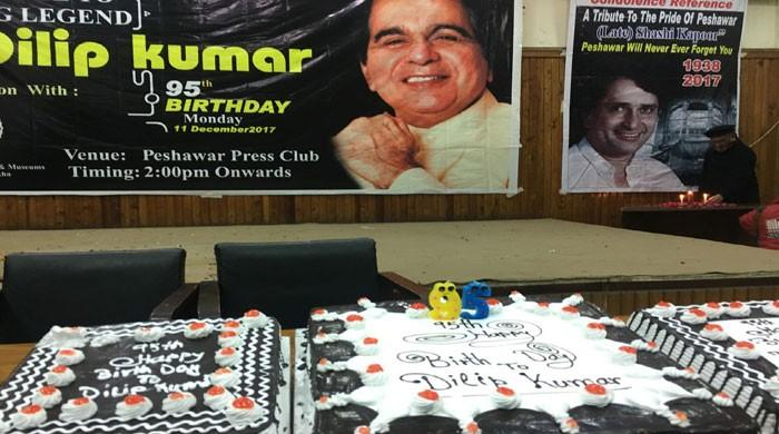 Peshawar celebrates Dilip Kumar's 95th birthday