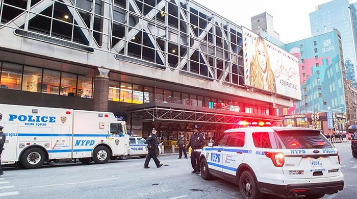 One arrested as explosion rocks bus terminal in Manhattan