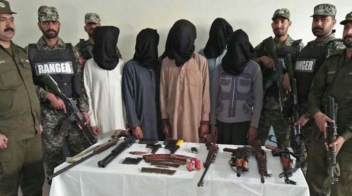 FC nabs six TTP terrorists in Balochistan: ISPR