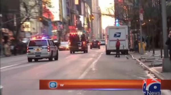 Four hurt in 'attempted terror' blast in NY subway: police