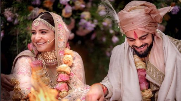 Yes, Anushka and Virat are married