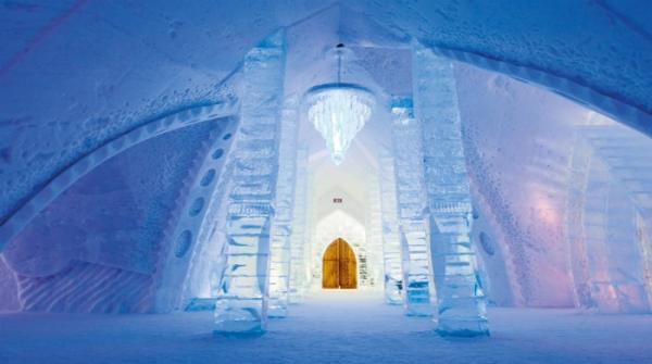 Amazing Ice and Snow Hotel In Finland