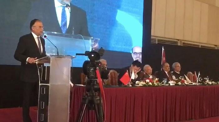 Pakistan is now peaceful with a bright future: Ahsan Iqbal