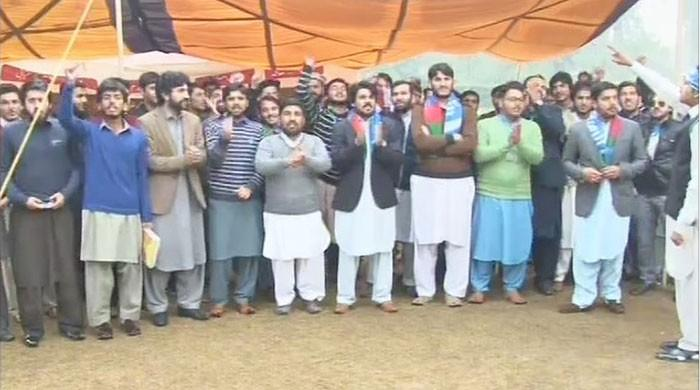 Students' protest forces Peshawar University to withdraw fee-hike notification