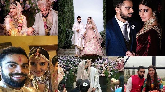 Top 10 pictures from Anushka and Virat's wedding