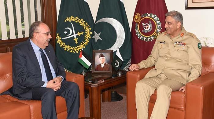 Pakistan views Palestine issue at par with Kashmir issue: COAS