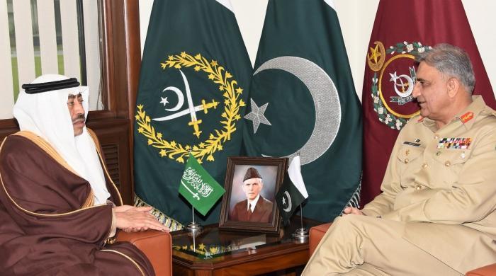 Saudi deputy defence minister calls on COAS