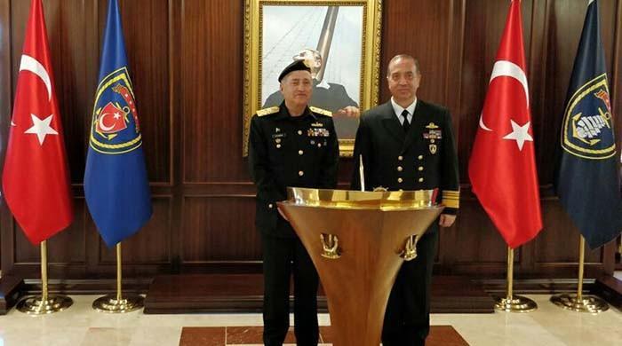 CNS calls on commander of Turkish Fleet in Turkey