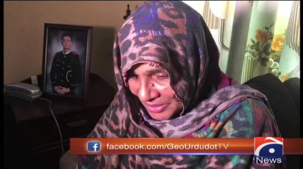 'He earned respect for himself and us,' says mother of martyred army officer
