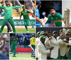 #Bestof2017: Re-live the greatest moments from Pakistan's Champions Trophy win
