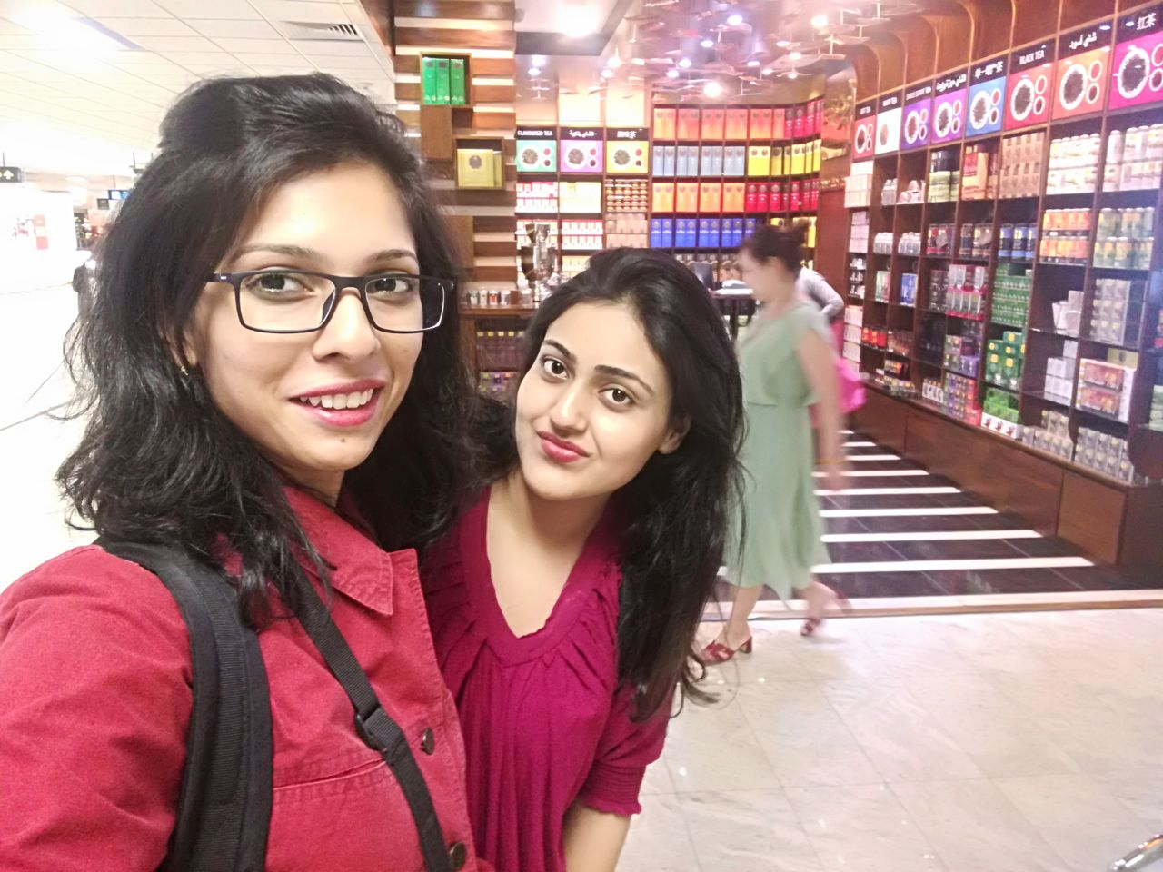 The two disheveled yet enthusiastic travellers - Picture credit: Nida M Hussain/Maria Shamim
