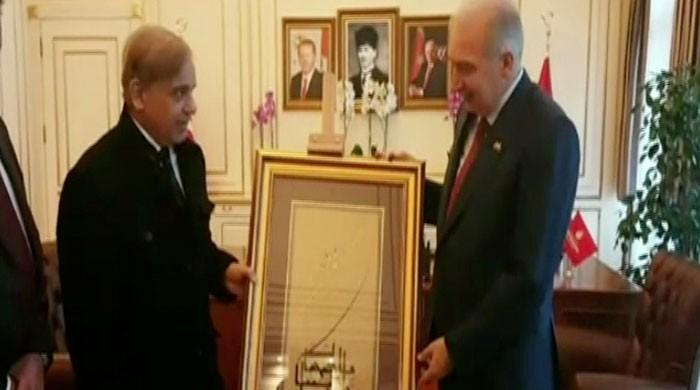 CM Shehbaz meets Istanbul mayor on sidelines of OIC summit