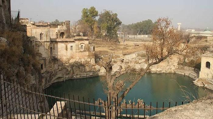 SC orders cement factory to fill Katas Raj pond in a week