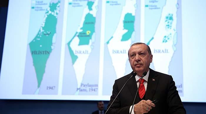 Erdogan calls Israel state of 'occupation' and 'terror'