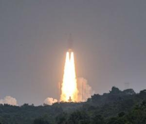 Ariane 5 rocket puts European GPS satellites into orbit