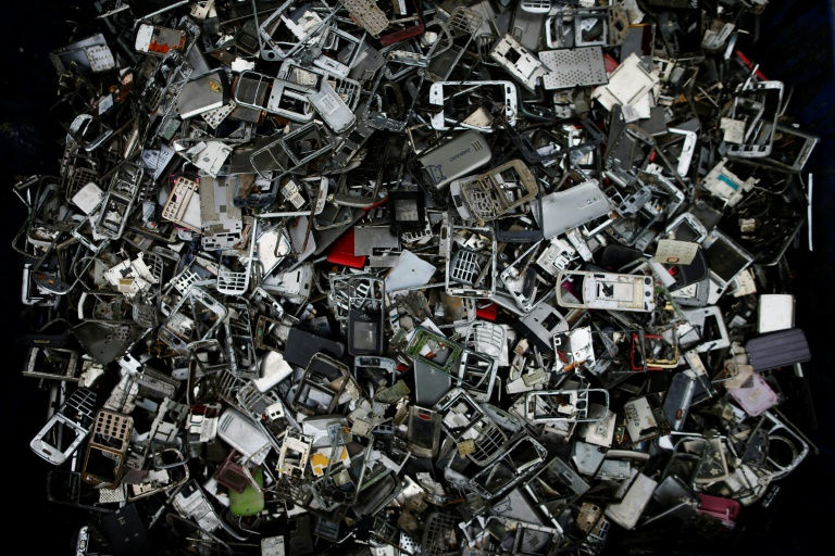 Just 20 percent of e-waste is being recycled