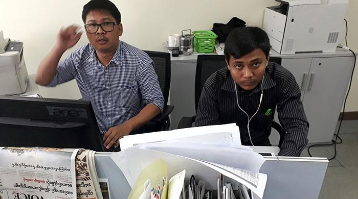 Two Reuters journalists arrested in Myanmar, face official secrets charges