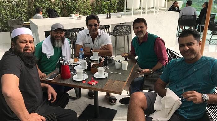Wasim Akram's reunion picture brings back good ol' memories