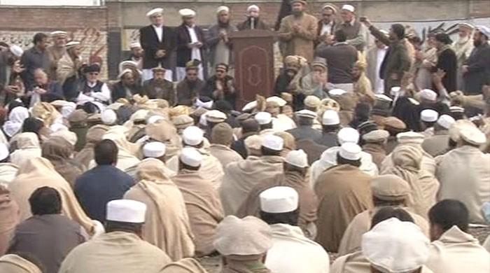 Tribal elders oppose FATA's merger with KP