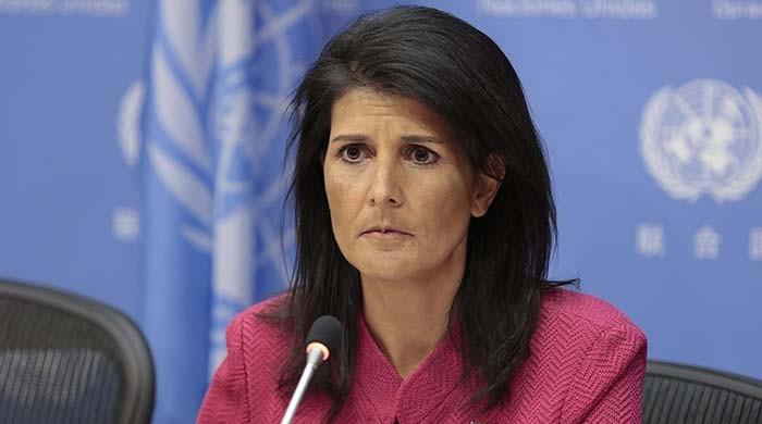 Huthi missile fired at Saudi was 'made in Iran': Haley