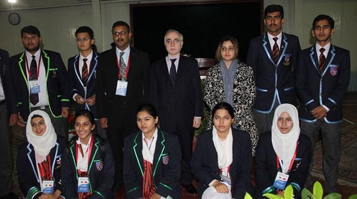 Pakistan sports youth delegation visits China