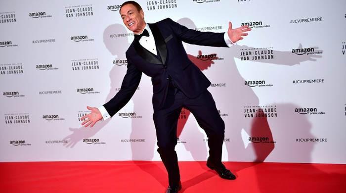 TV parody mines action hero Van Damme's hidden depths