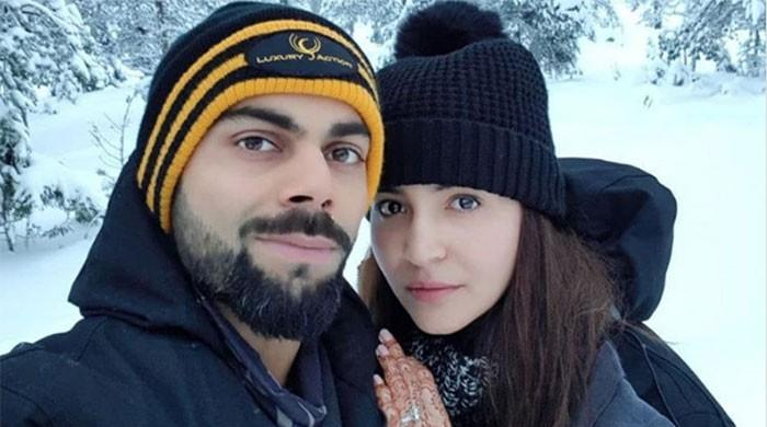 'In heaven' - Anushka shares honeymoon picture with Kohli