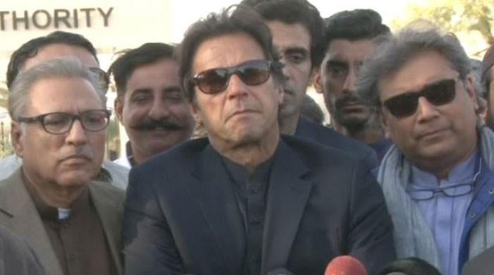 Imran Khan thankful after being cleared in 'fake case'
