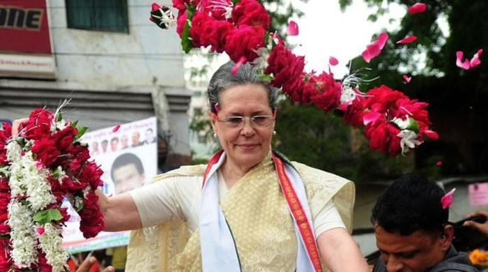 Sonia Gandhi retires as India's Congress party chief