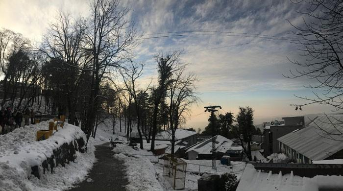In pictures: Snow blankets streets of Murree