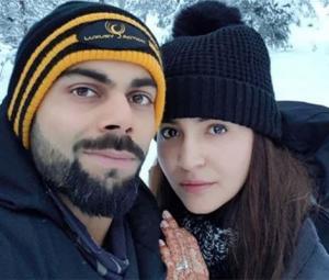 'In heaven' - Anushka shares honeymoon picture with Kohli