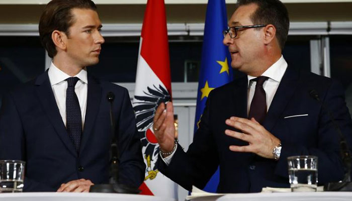 Austrian coalition government talks in final stages