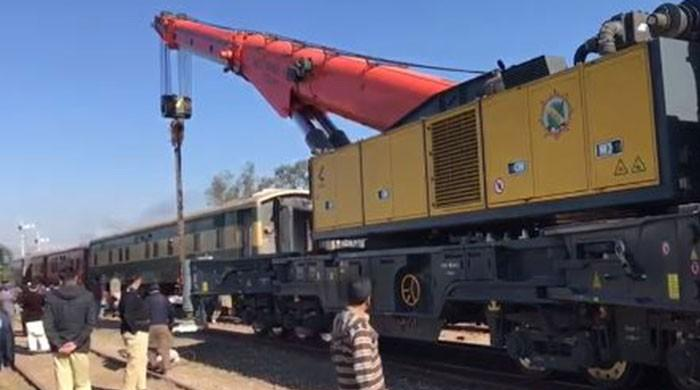 Khyber Mail's three carriages derail near Lahore
