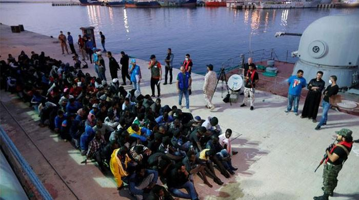 Libyan coast guard rescues more than 250 migrants trying to reach Italy