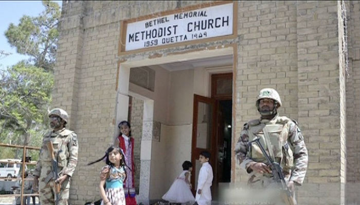 Multiple casualties in Pakistan Methodist church attack