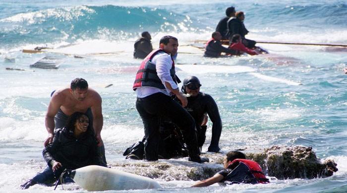 32 Turks rescued in Greek waters