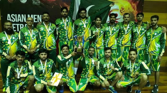 Pakistan bags silver in Asian Men's Netball Championship
