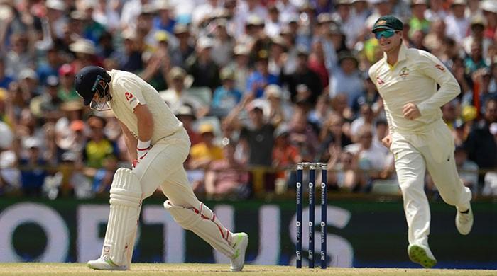 Australia poised to secure Ashes despite rain