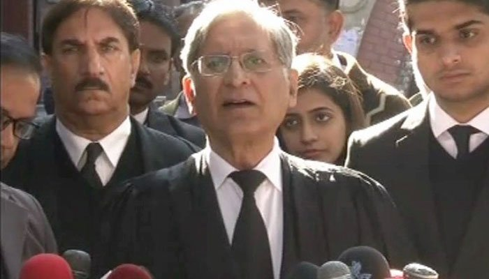 SC dealt leniently with Sharif family in Hudaibiya case: Aitzaz