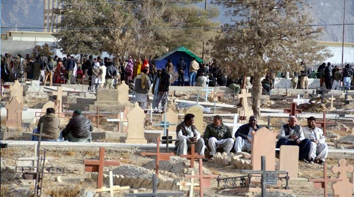 Church attack: Six of nine deceased laid to rest in Quetta