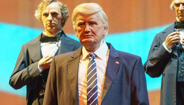 Madame Tussauds trolls Disney over new animatronic Trump