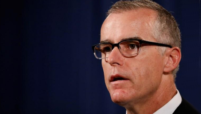 FBI's McCabe grilled almost 8 hours amid anti-Trump bias allegations