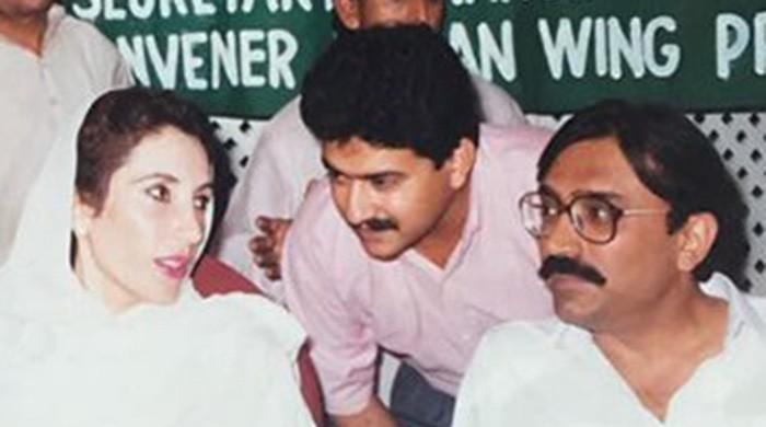 The person Benazir Bhutto named as her killer