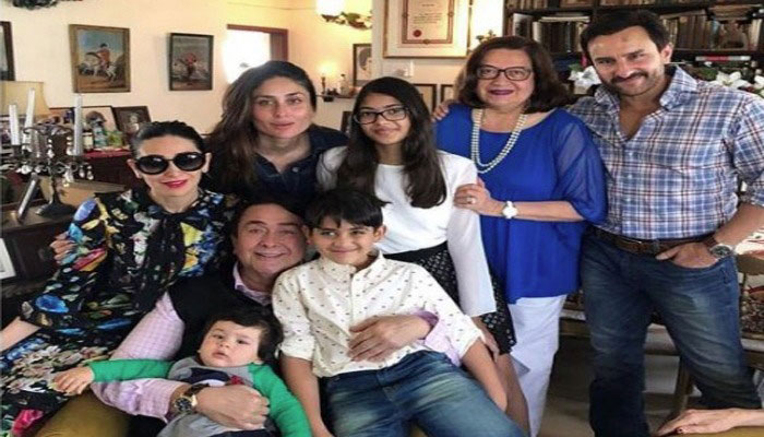 Taimur was the star of the grand Kapoor Christmas brunch
