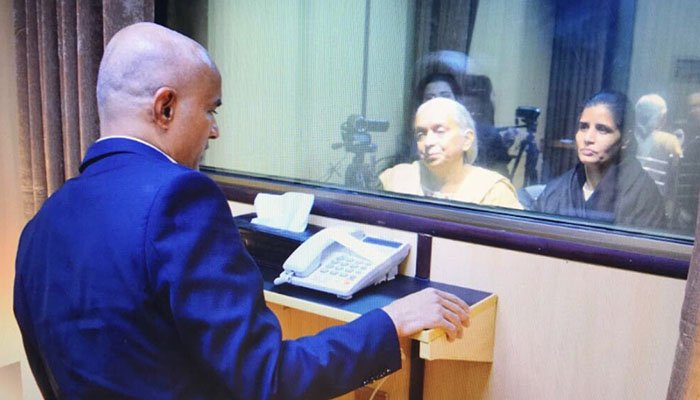 Kulbhushan Jadhav meeting his mother and wife