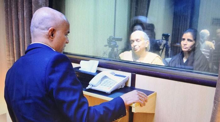 Indian spy Kulbhushan Jadhav's mother, wife depart for India after meeting at FO