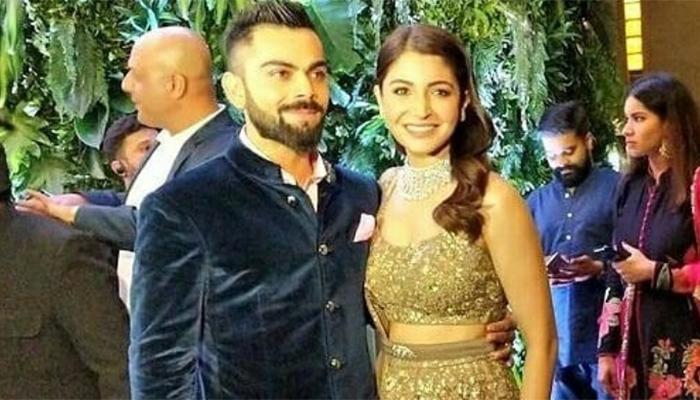 Virushka host Bollywood and sports biggies at Mumbai reception