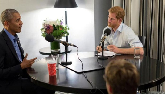 Prince Harry grills Barack Obama in hilarious rapid-fire exchange